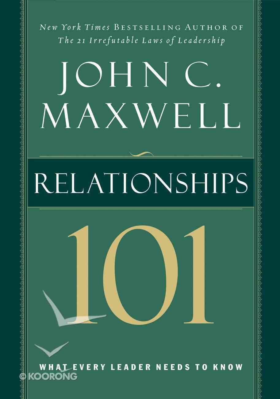 Relationships 101 eBook