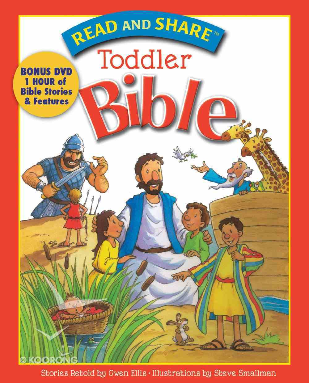 Toddler Bible (Read And Share Series) eBook