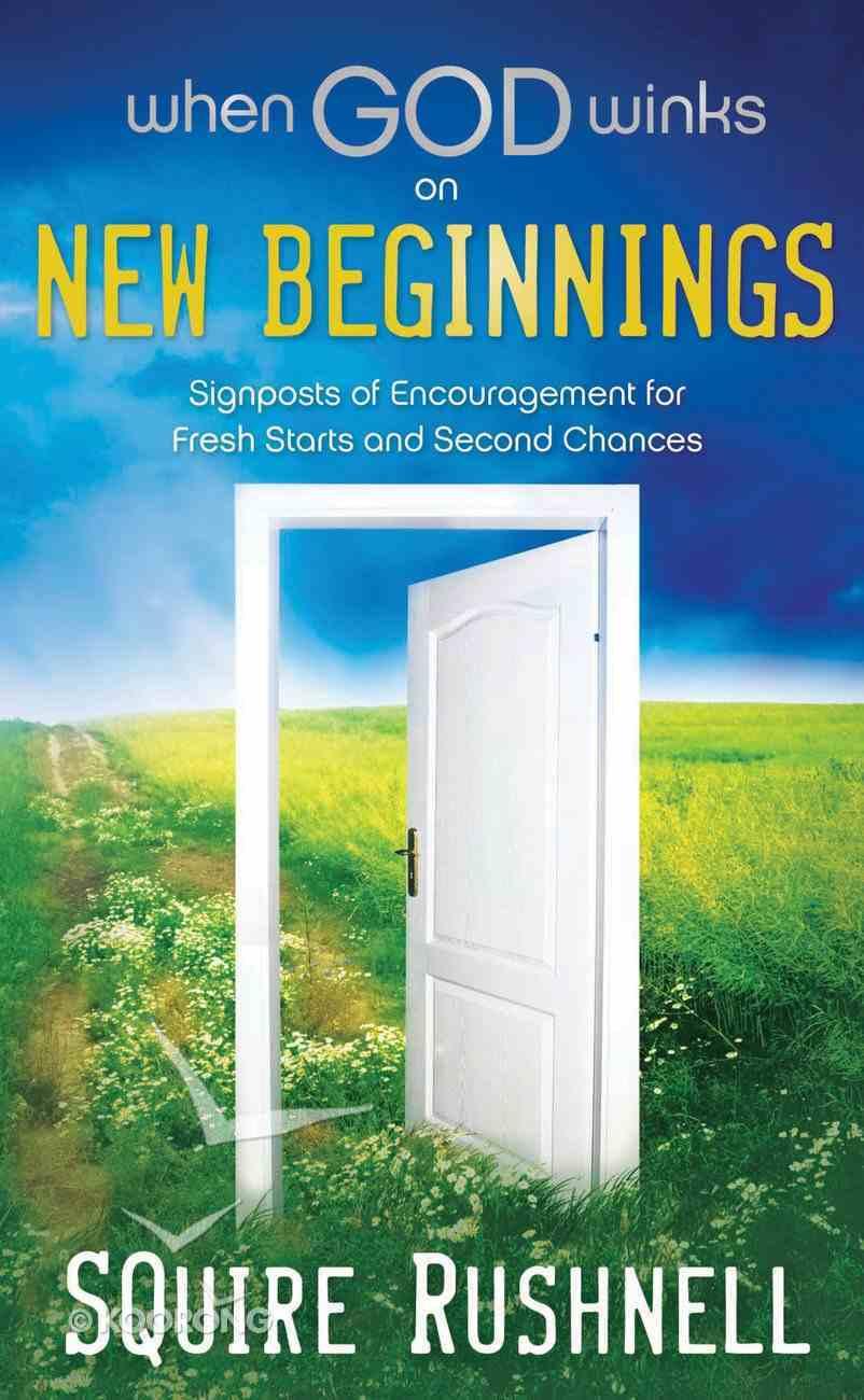 When God Winks on New Beginnings eBook
