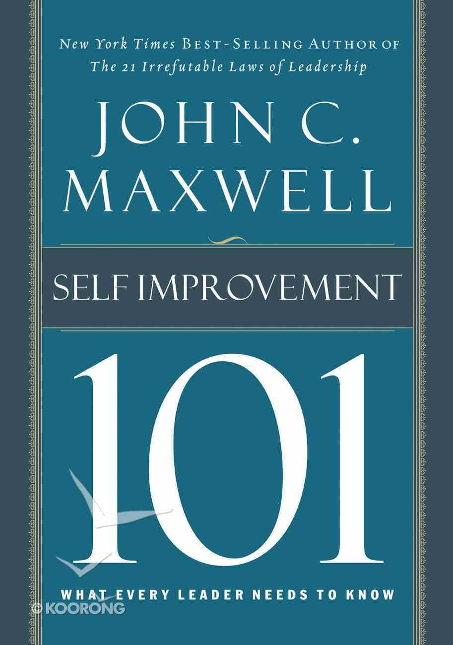 Self-Improvement 101 eBook