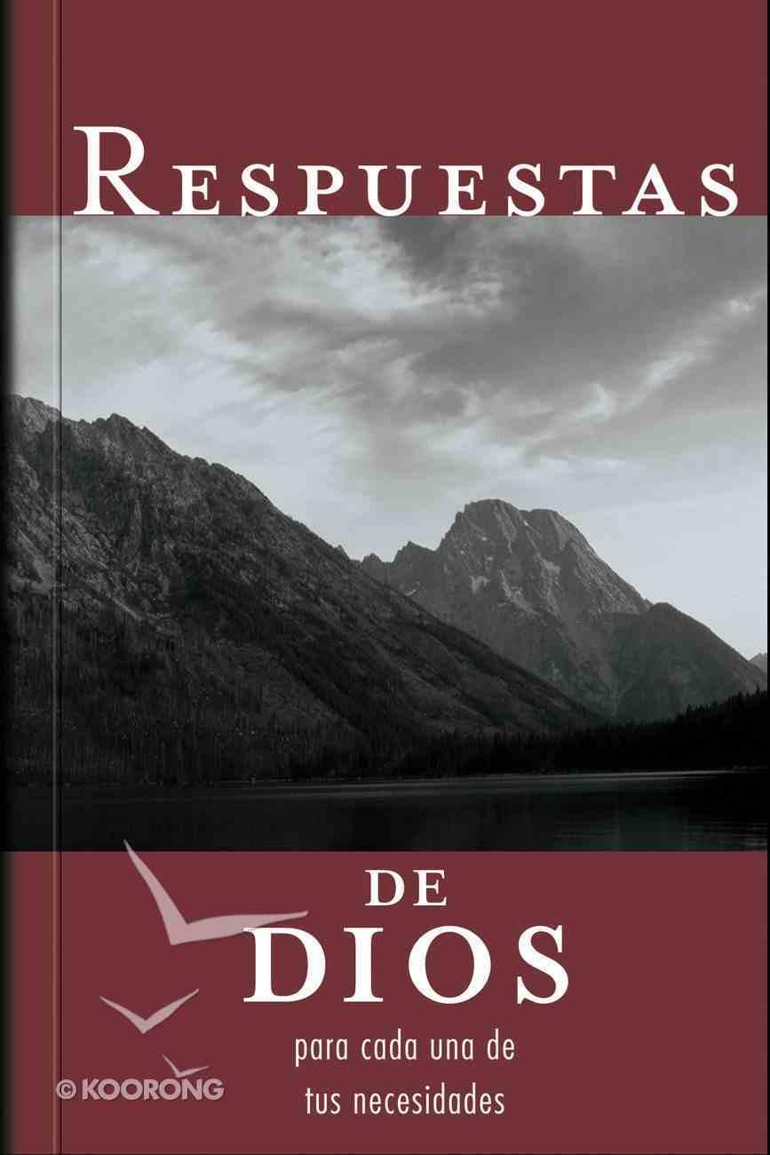 Respuestas De Dios Para Cada Una De Tus Necesidades (Spanish) (Spa) (God's Anwers For Your Every Need) eBook