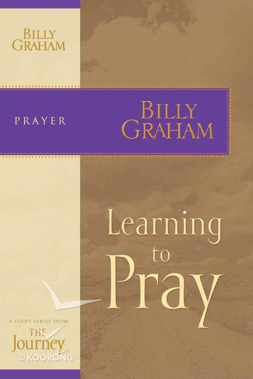 Learning to Pray (Journey Study Series) eBook