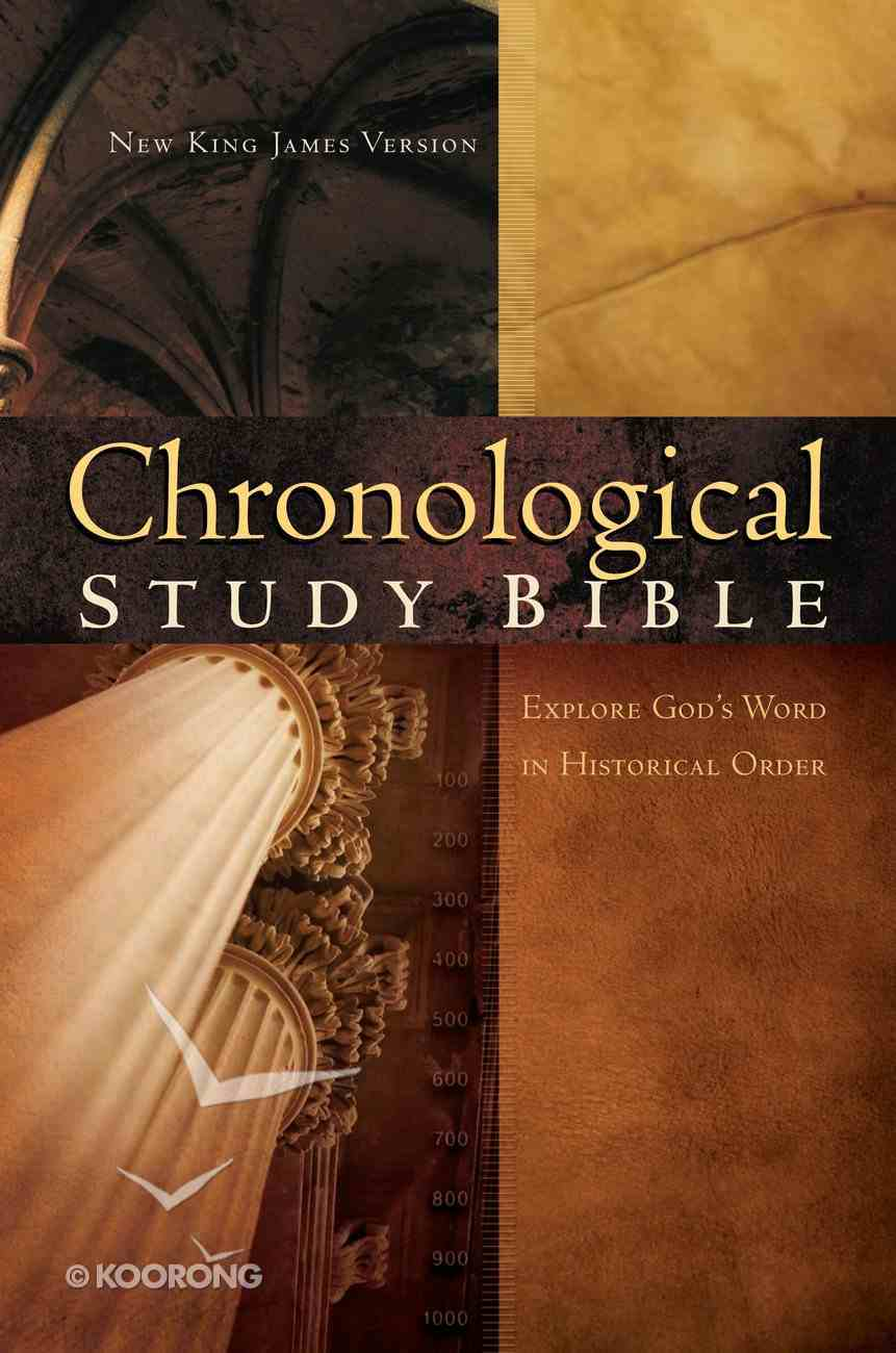 NKJV Chronological Study Bible Burgundy eBook