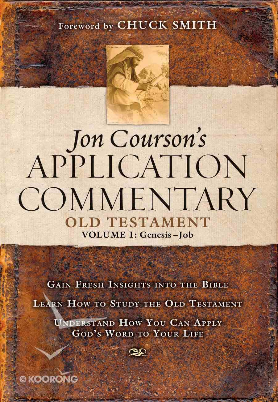 Old Testament #01 - Genesis-Job (Courson's Application Commentary Series) eBook