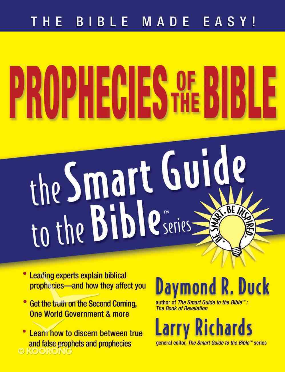 Prophecies of the Bible (Smart Guide To The Bible Series) eBook