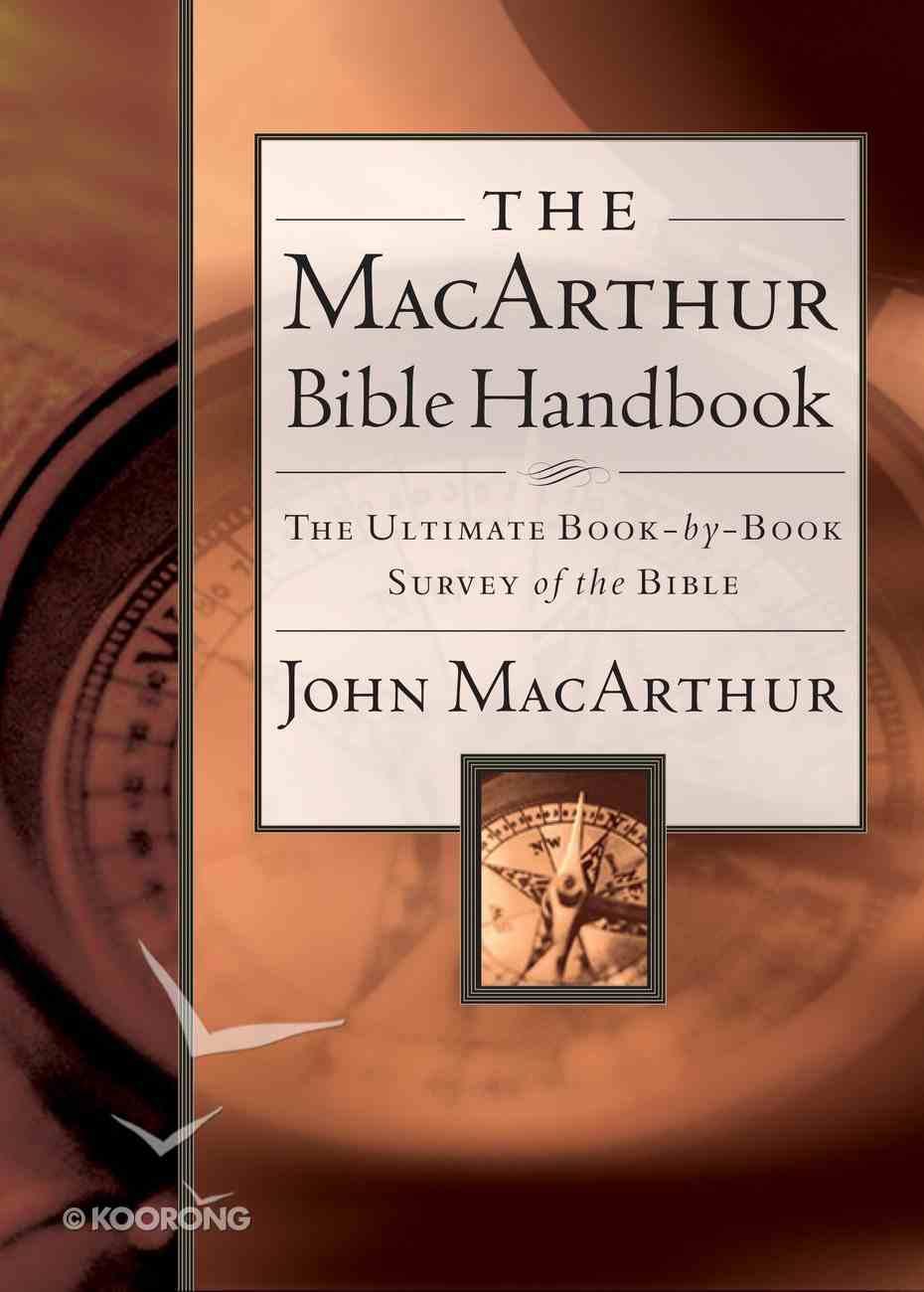 The Macarthur Bible Handbook eBook