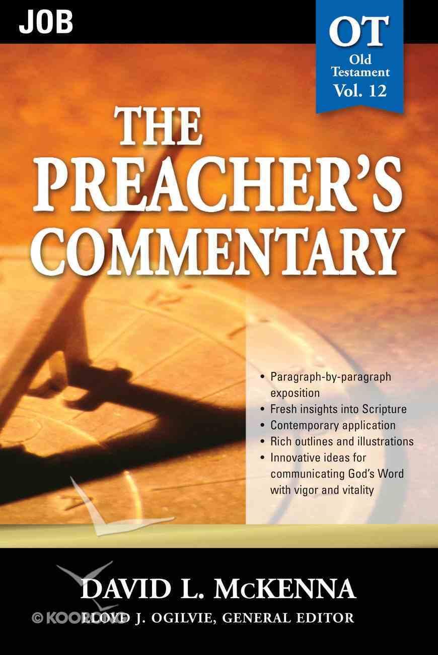 Job (#12 in Preacher's Commentary Series) eBook