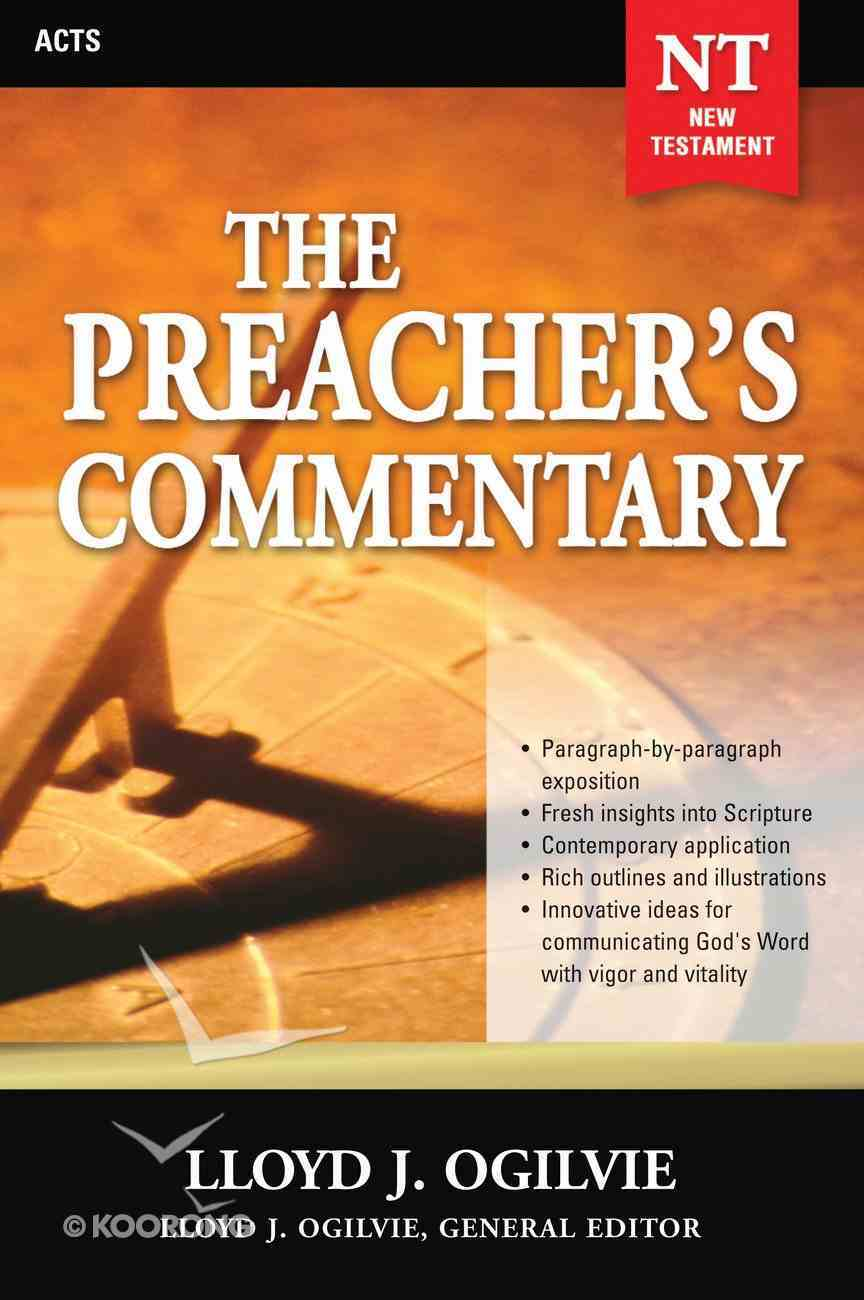 Acts (#28 in Preacher's Commentary Series) eBook