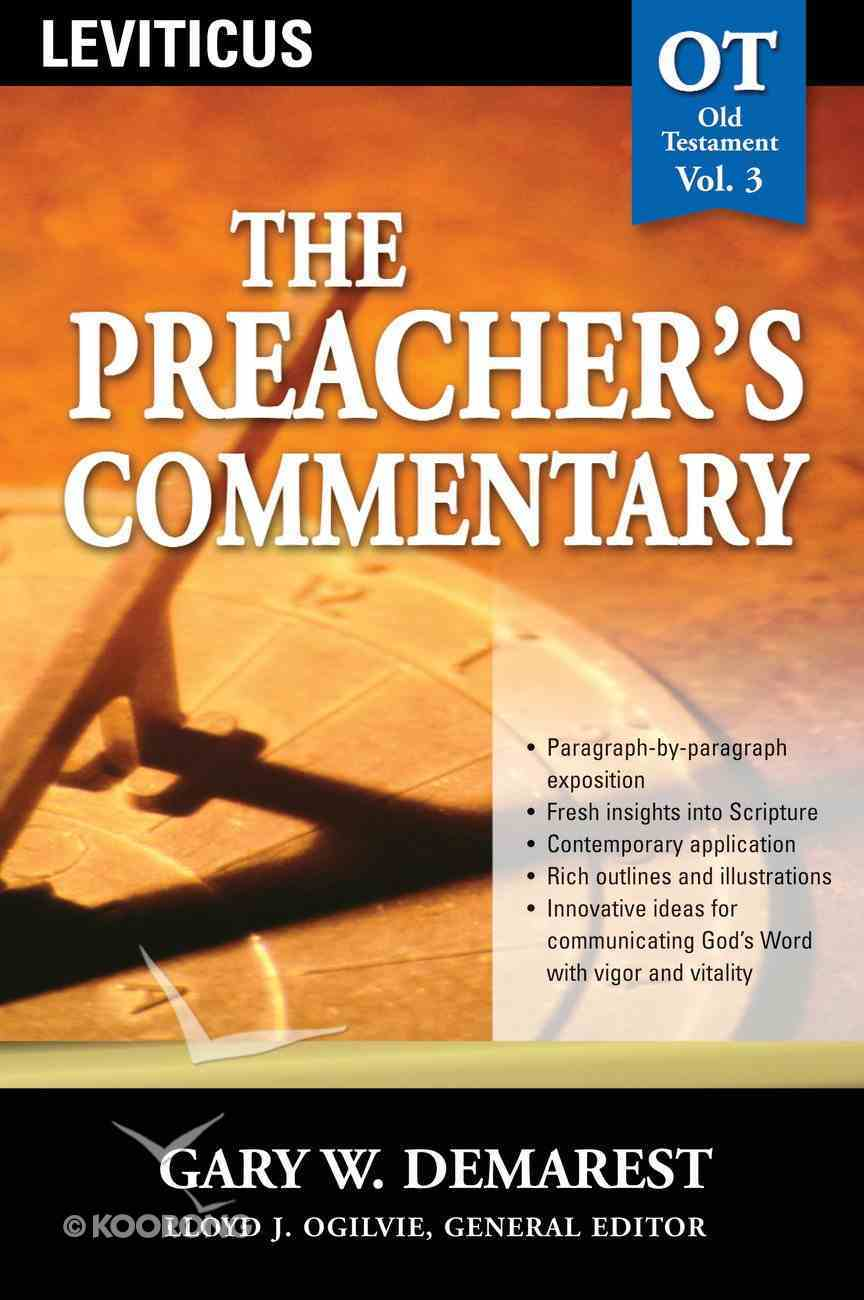 Leviticus (#03 in Preacher's Commentary Series) eBook
