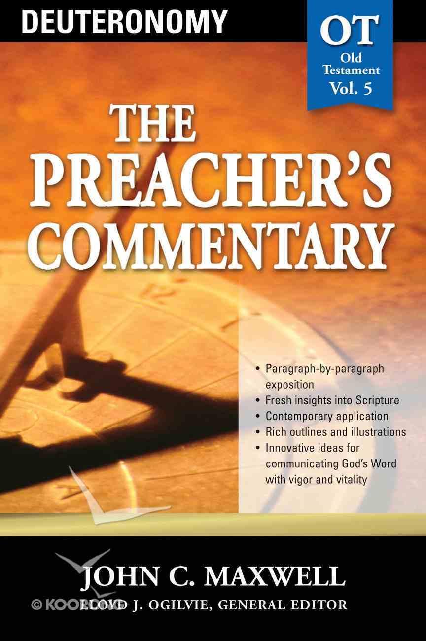 Deuteronomy (#05 in Preacher's Commentary Series) eBook