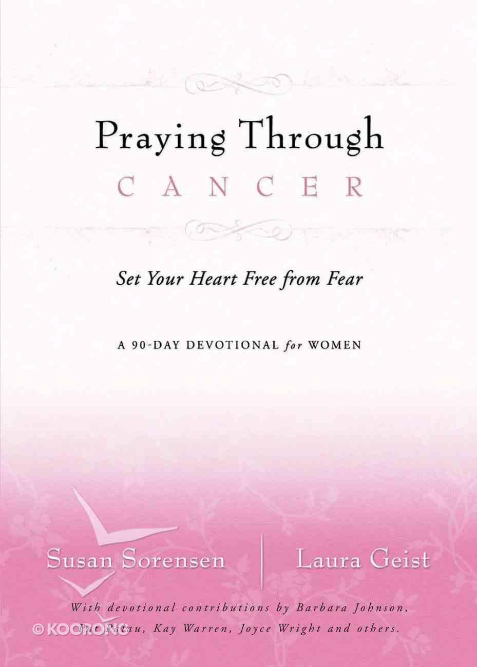 Praying Through Cancer eBook