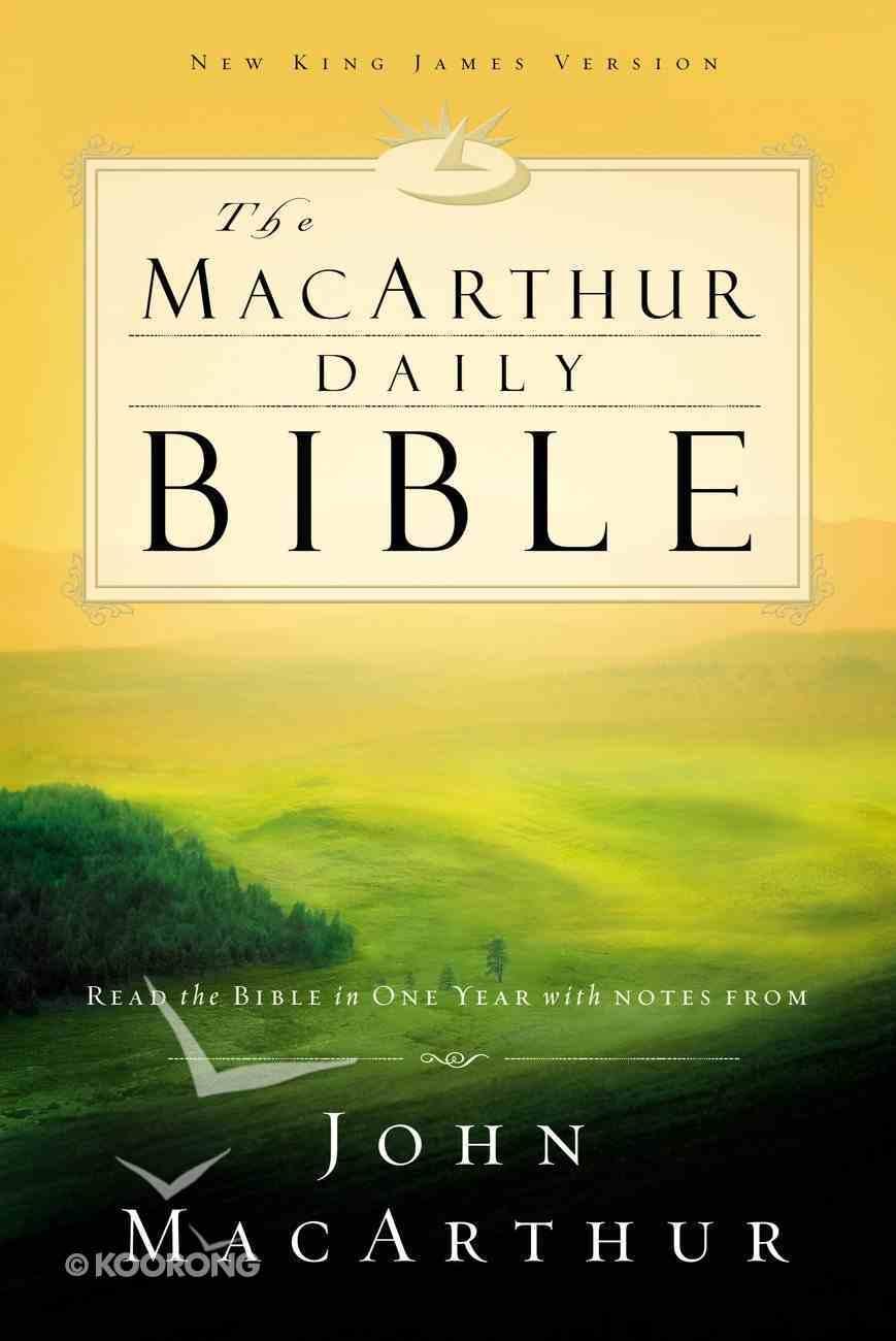 NKJV Macarthur Daily Bible eBook