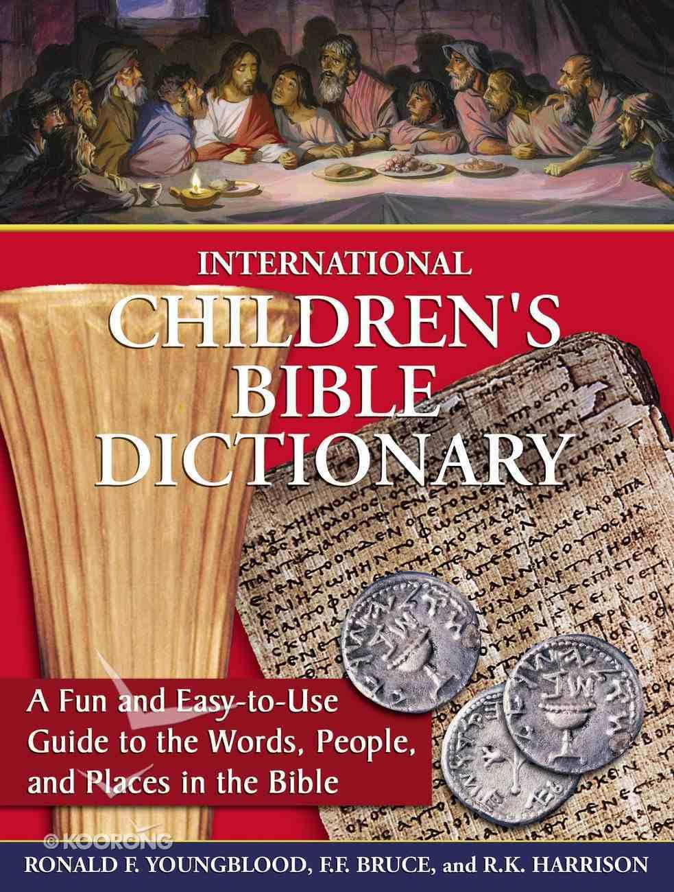 International Children's Bible Dictionary eBook