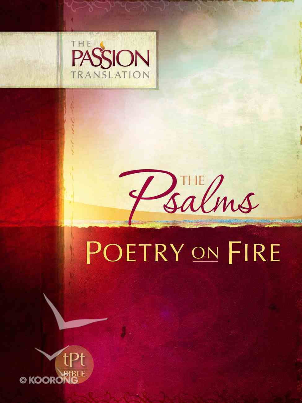 TPT Psalms: Poetry on Fire (Black Letter Edition) eBook