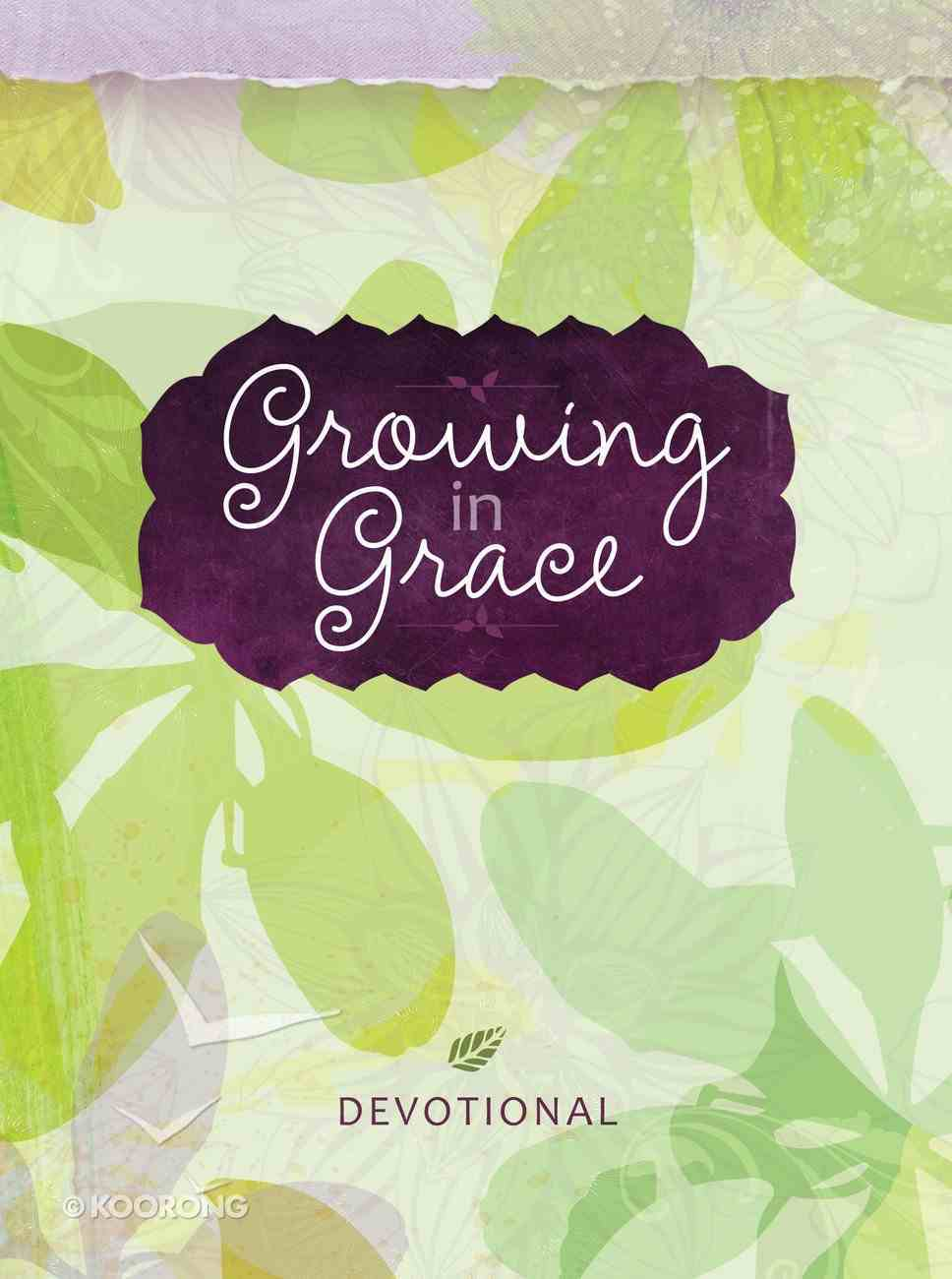 Growing in Grace Devotional Journal eBook
