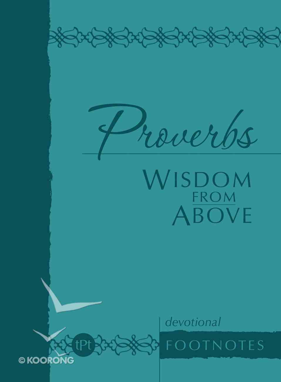 Proverbs Wisdom From Above eBook