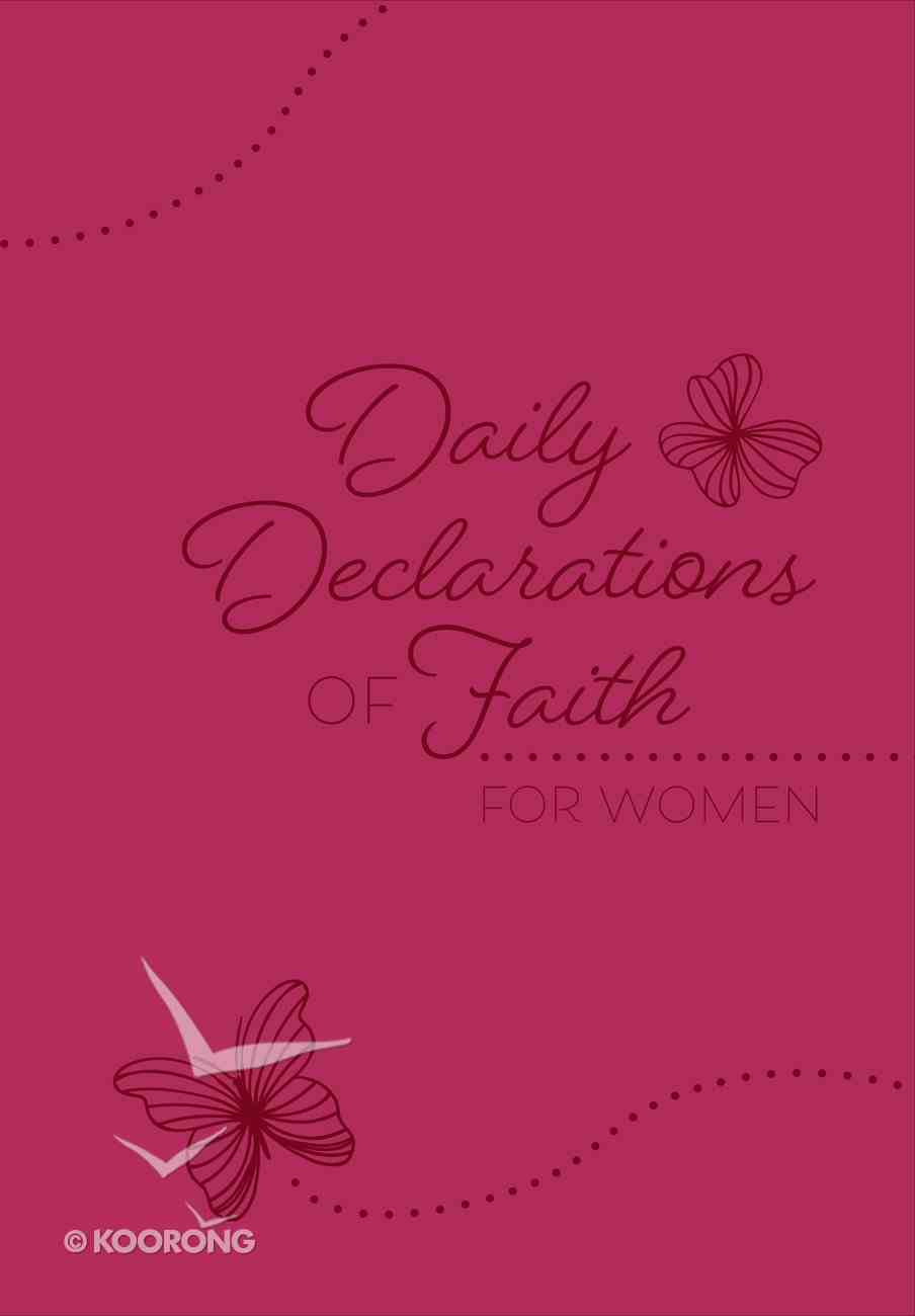 Daily Declarations of Faith For Women eBook