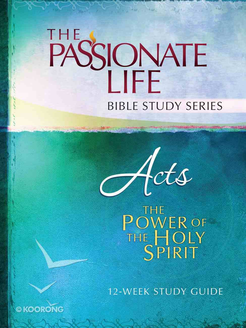 Acts - the Power of the Holy Spirit (The Passionate Life Bible Study Series) eBook