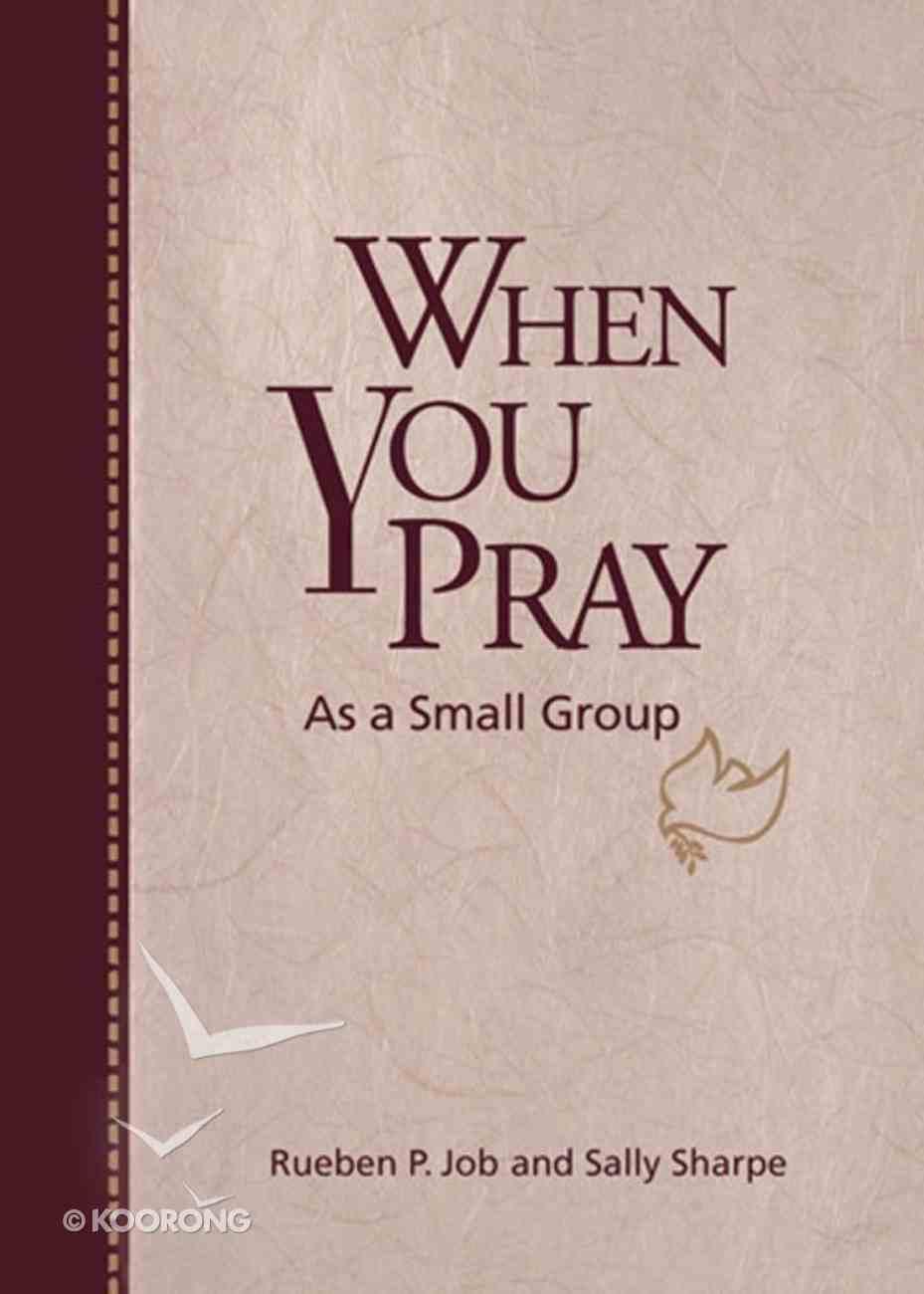 When You Pray as a Small Group eBook