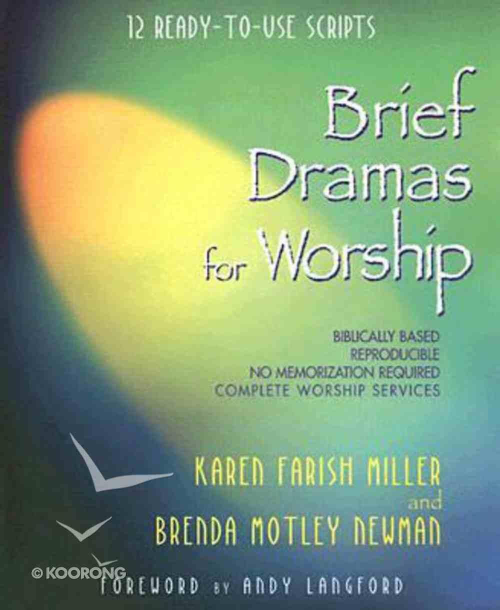 Brief Dramas For Worship eBook