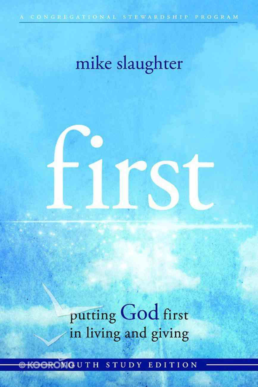 First (Youth Study) (101 Questions About The Bible Kingstone Comics Series) eBook