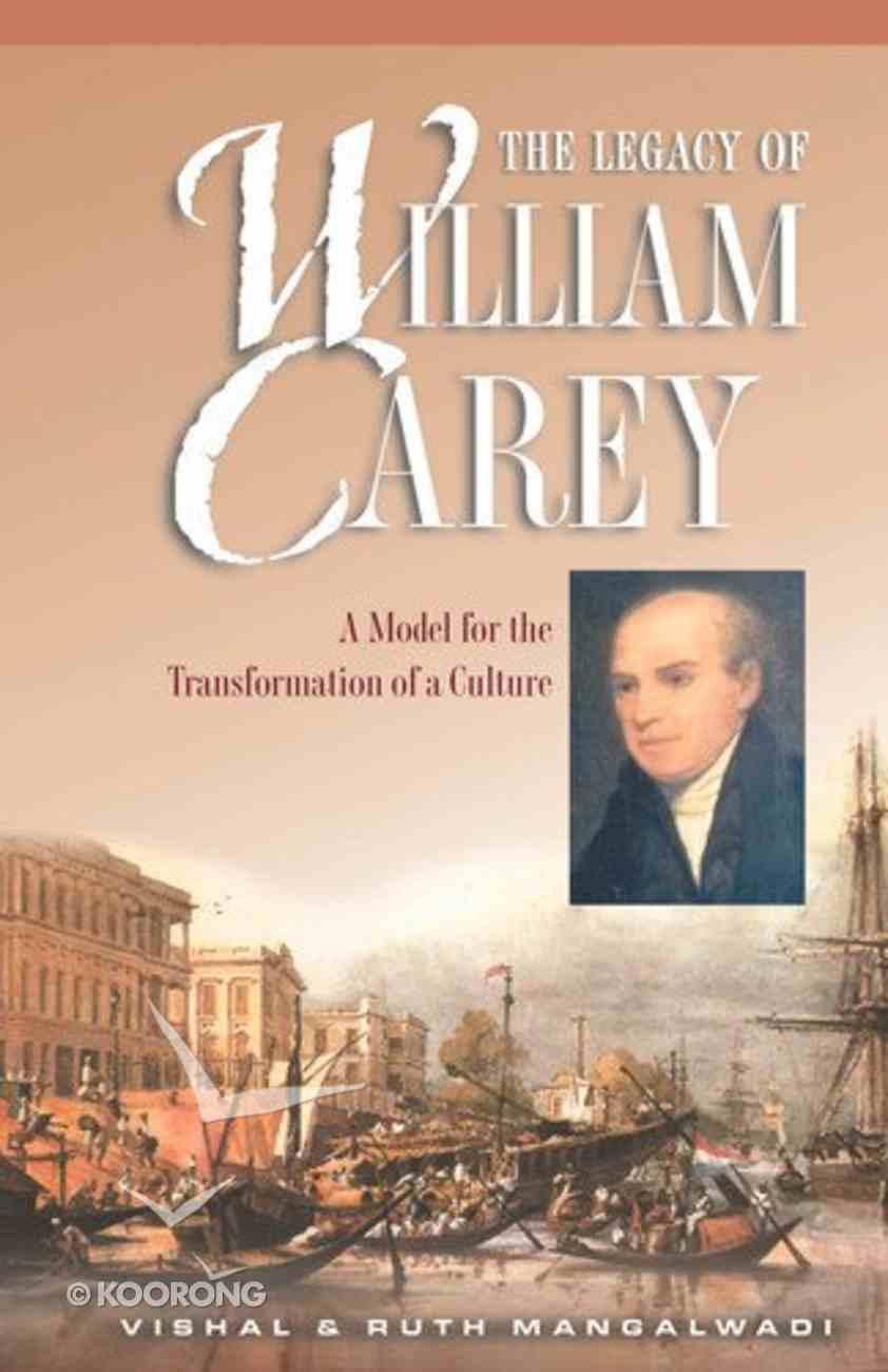 The Legacy of William Carey eBook