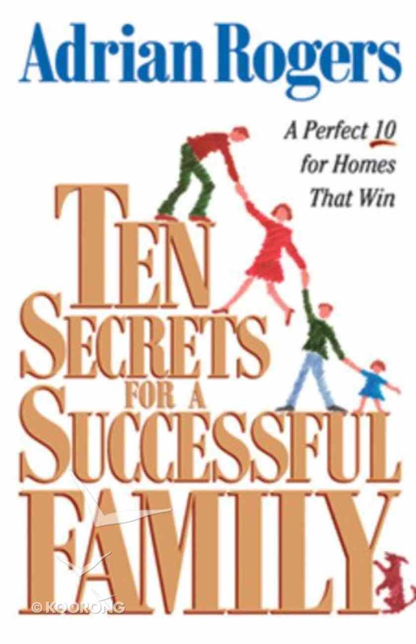 Ten Secrets For a Successful Family eBook