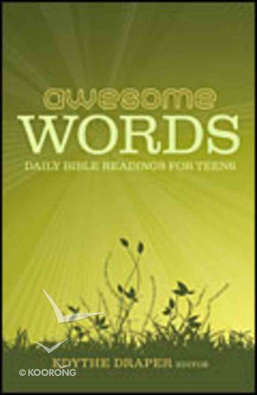 Awesome Words eBook
