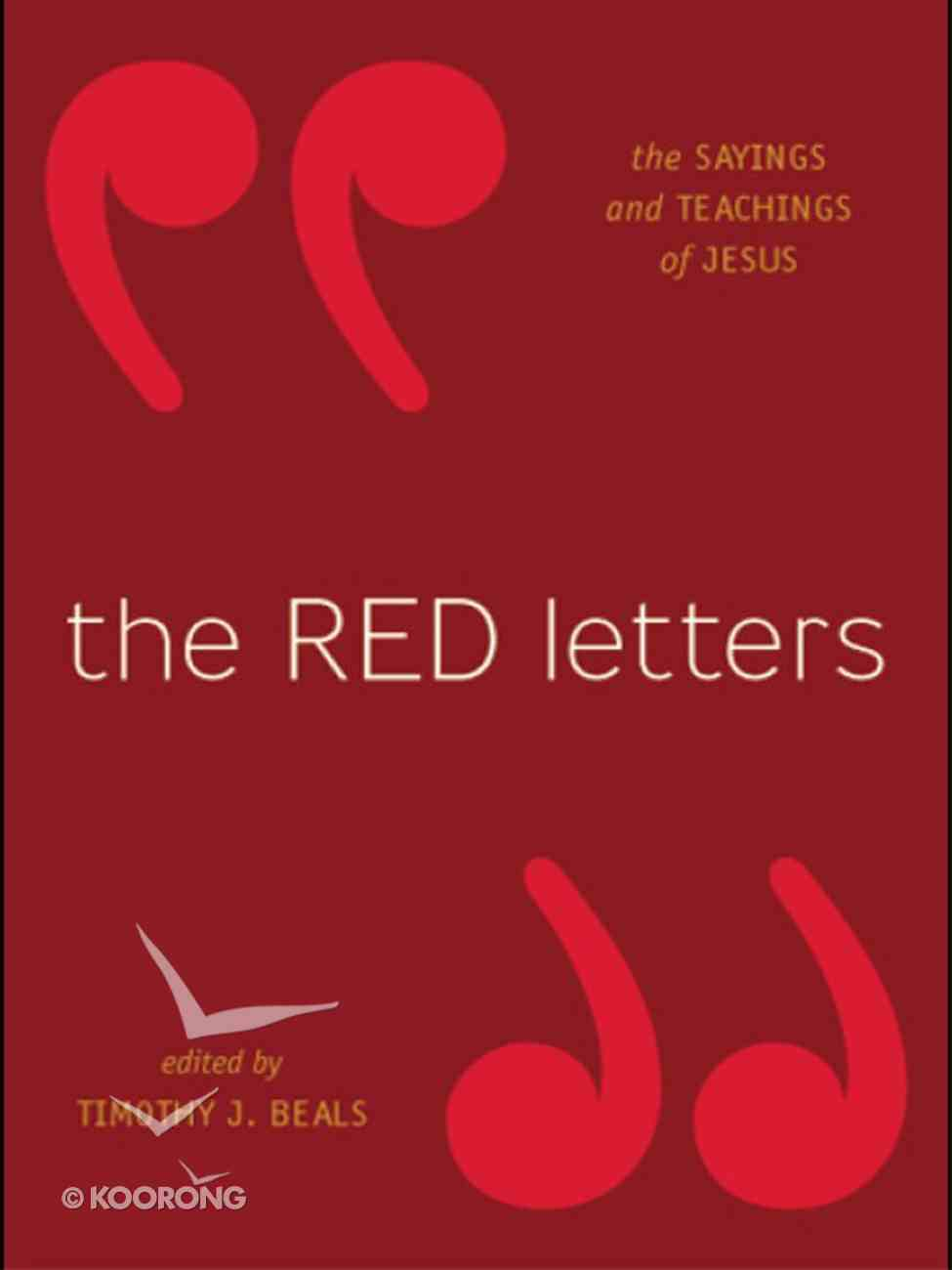 The Red Letters eBook