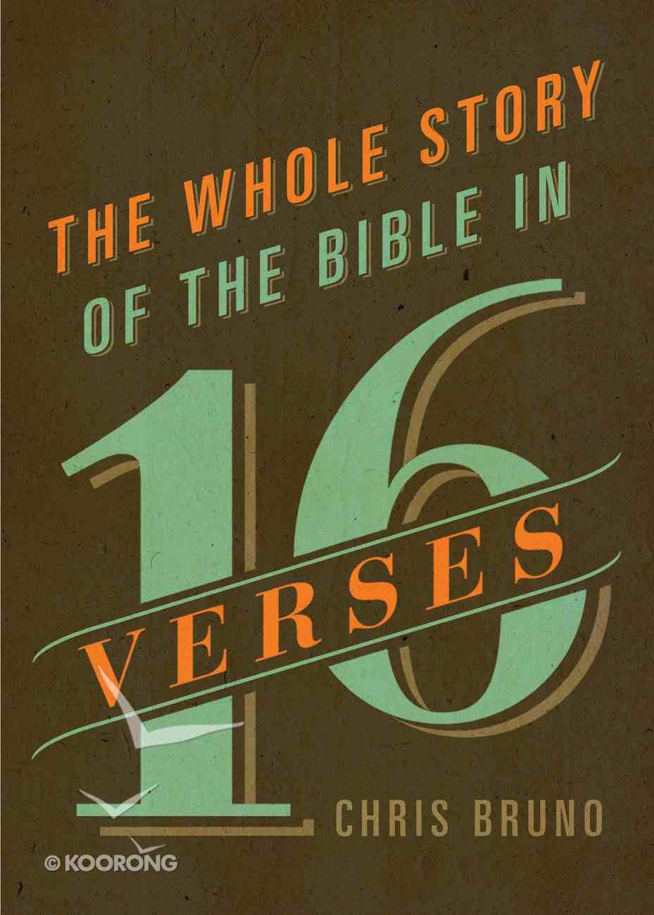 The Whole Story of the Bible in 16 Verses eBook