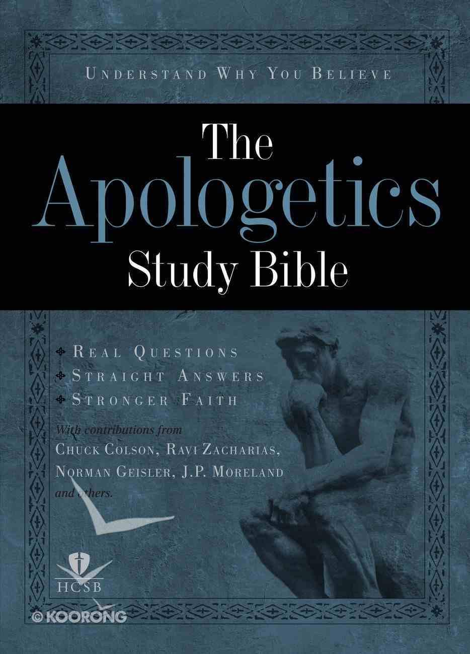 HCSB Apologetics Study Bible eBook