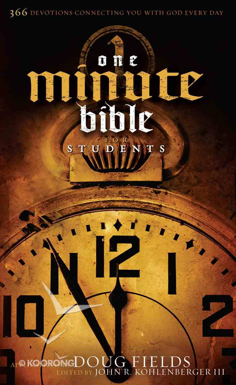The One-Minute Bible For Students eBook