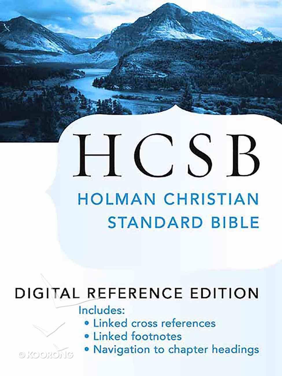 HCSB Ultrathin Reference Black eBook