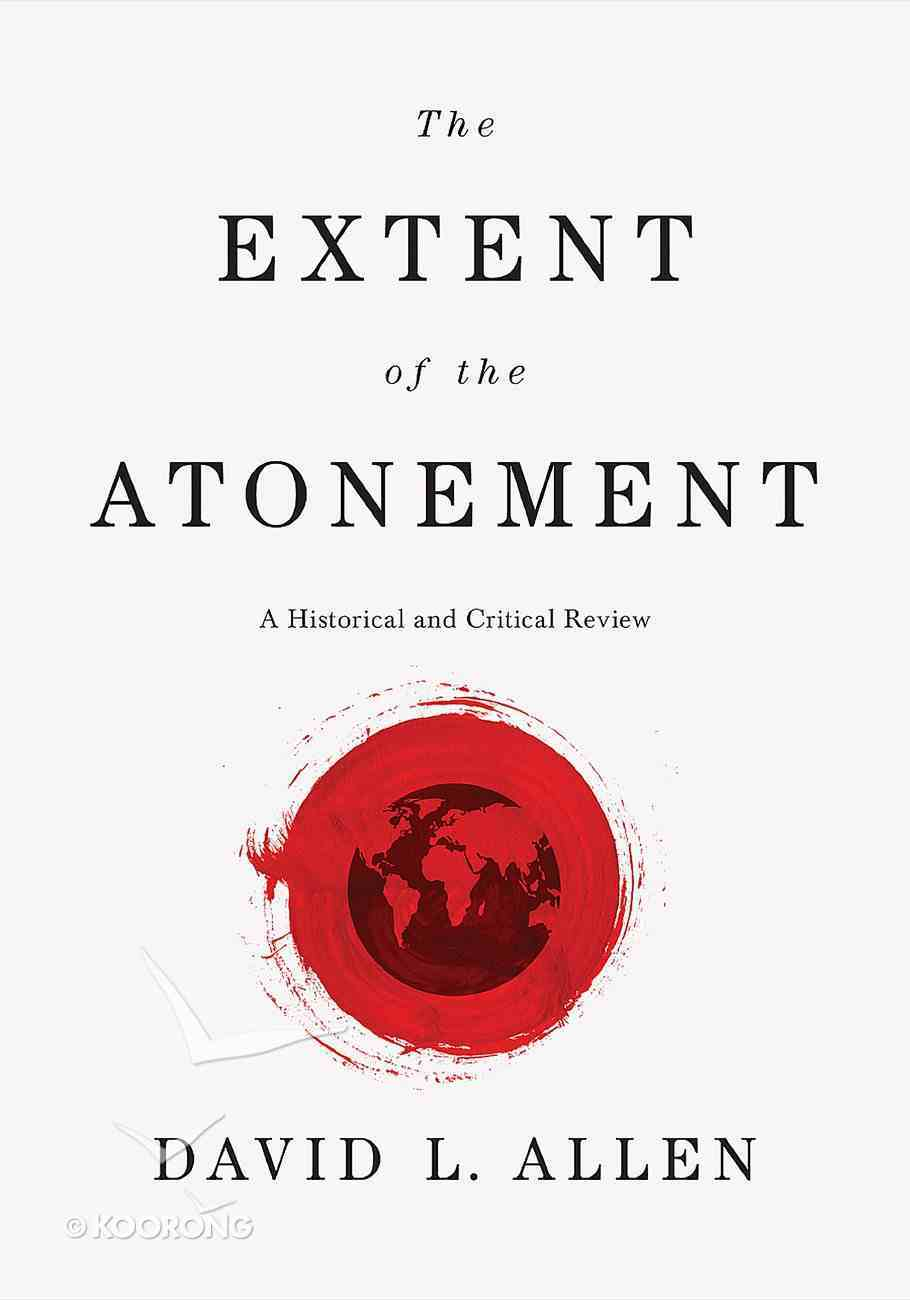 The Extent of the Atonement eBook