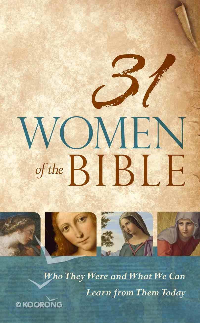 31 Women of the Bible eBook