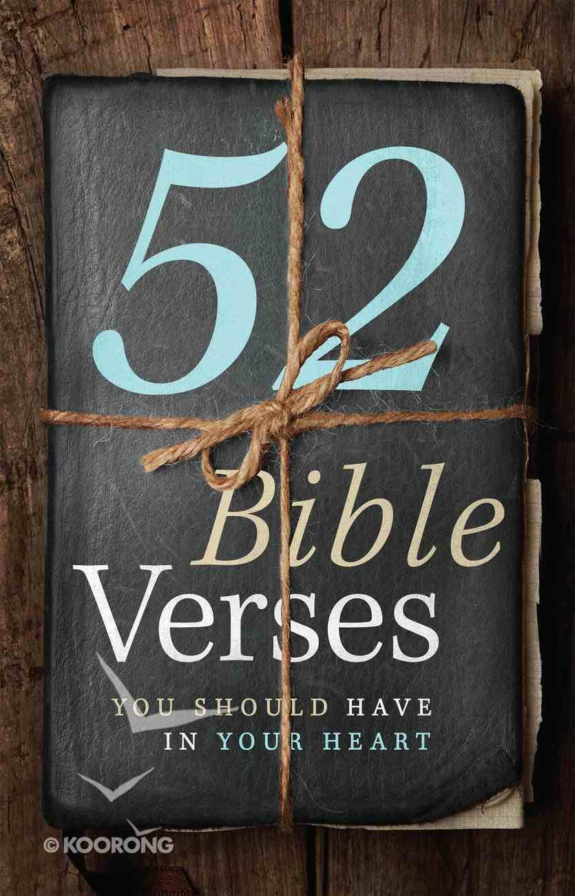 52 Bible Verses You Should Have in Your Heart eBook