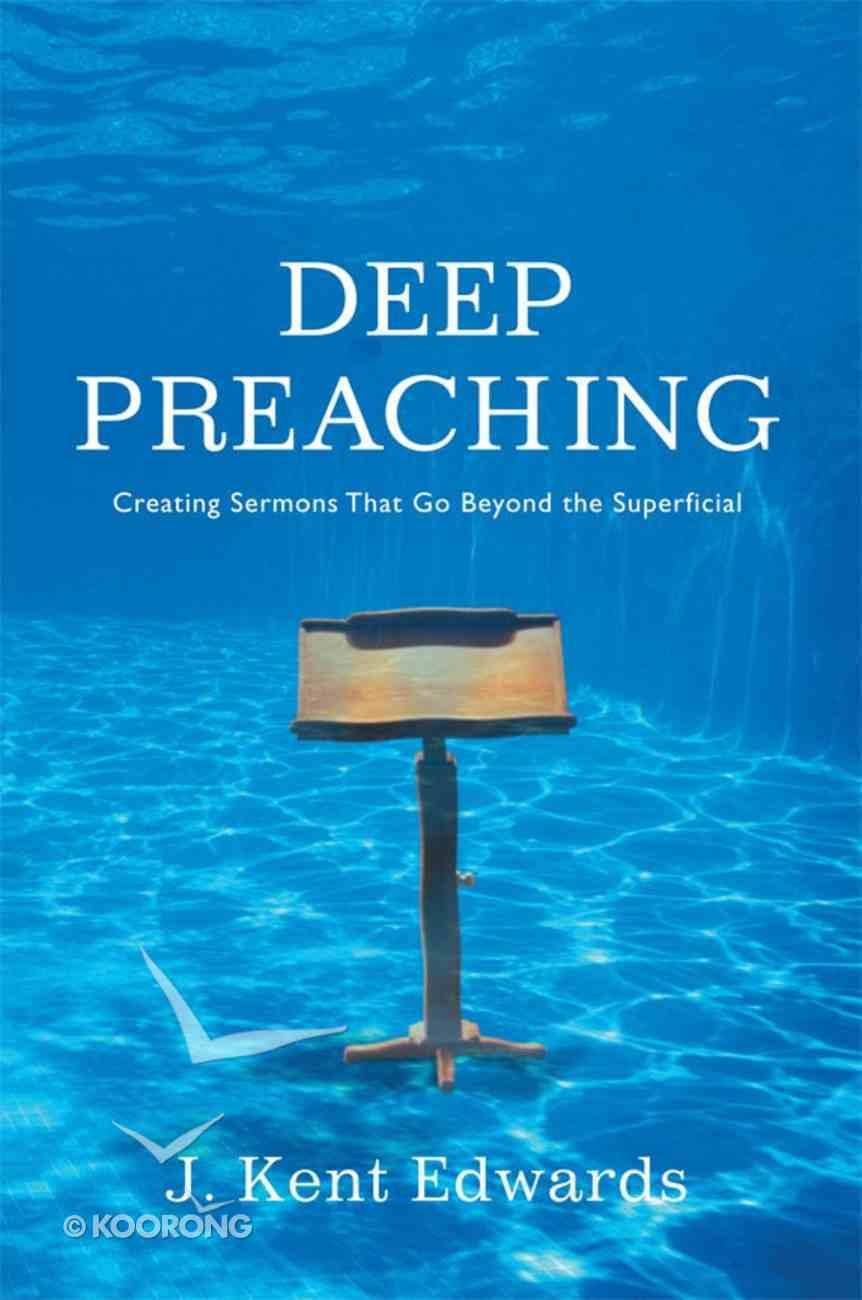 Deep Preaching eBook