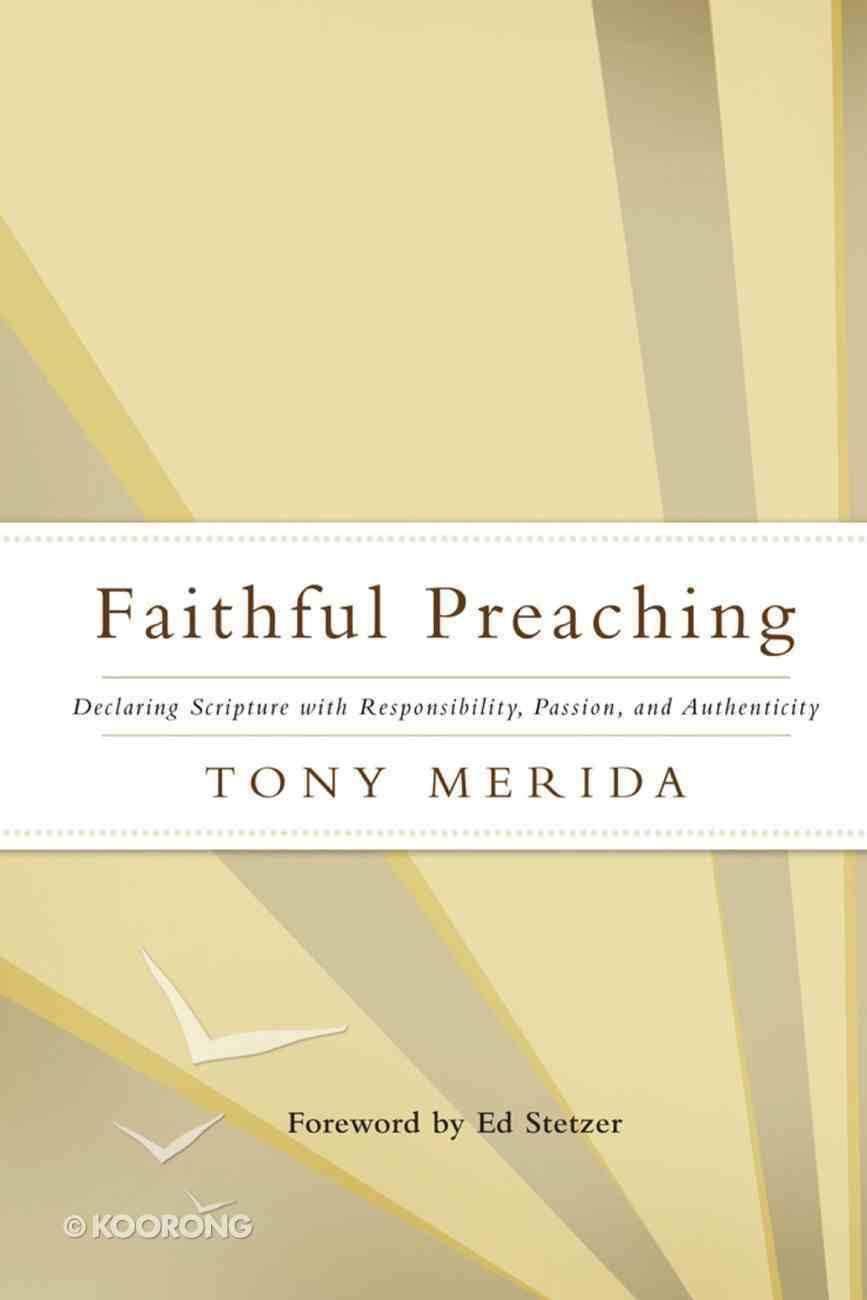 Faithful Preaching eBook
