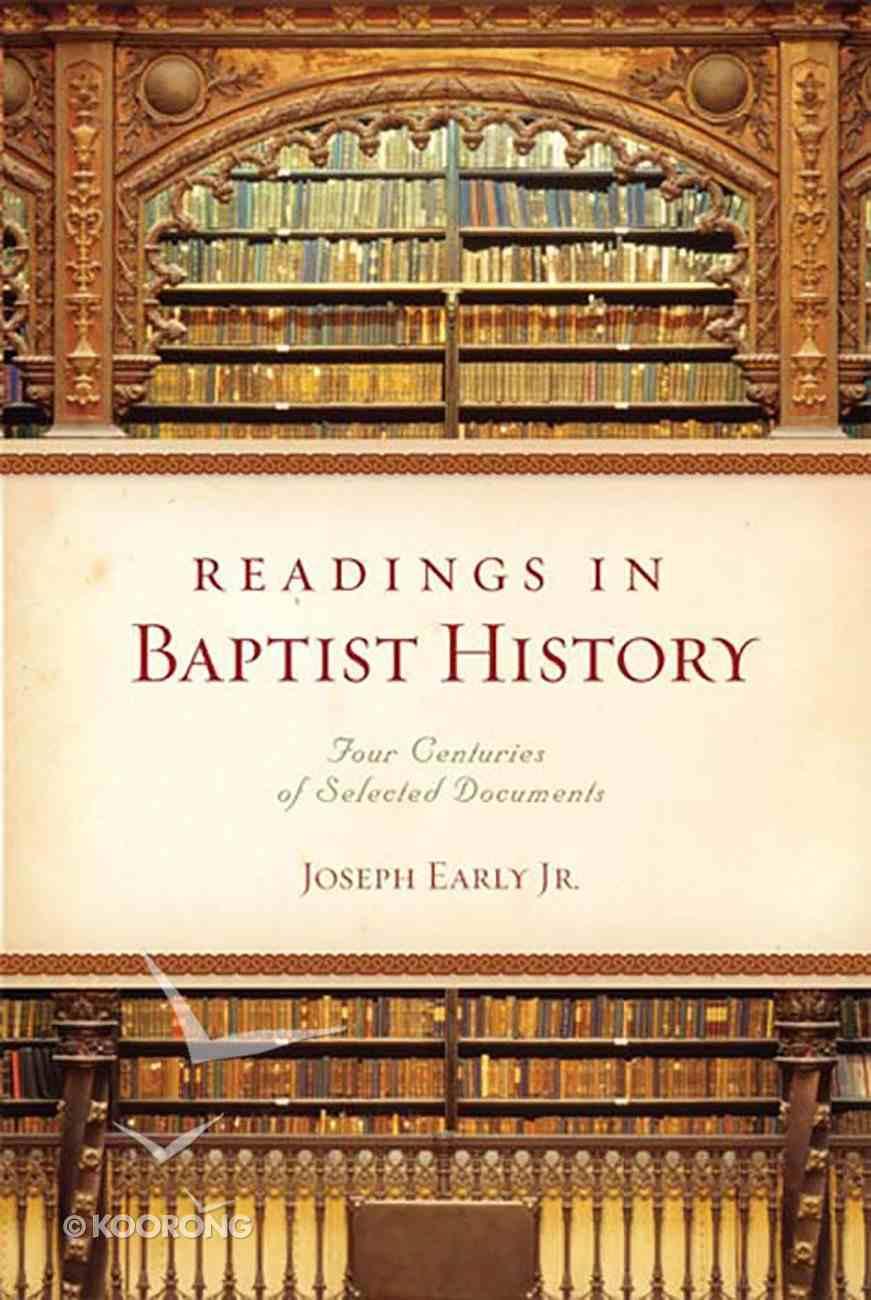 Readings in Baptist History eBook