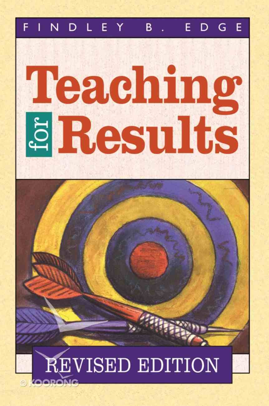 Teaching For Results (1999) eBook