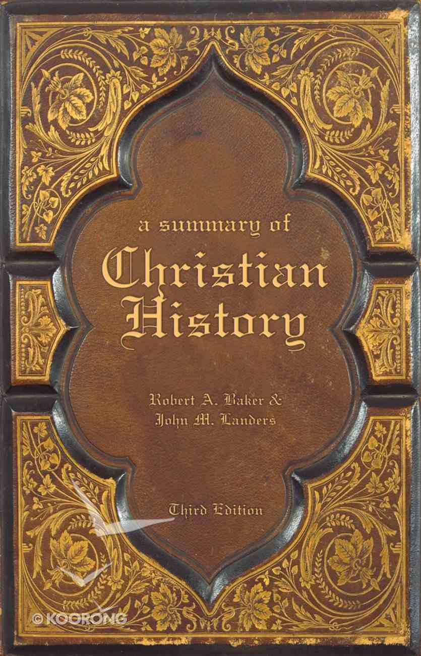 A Summary of Christian History eBook