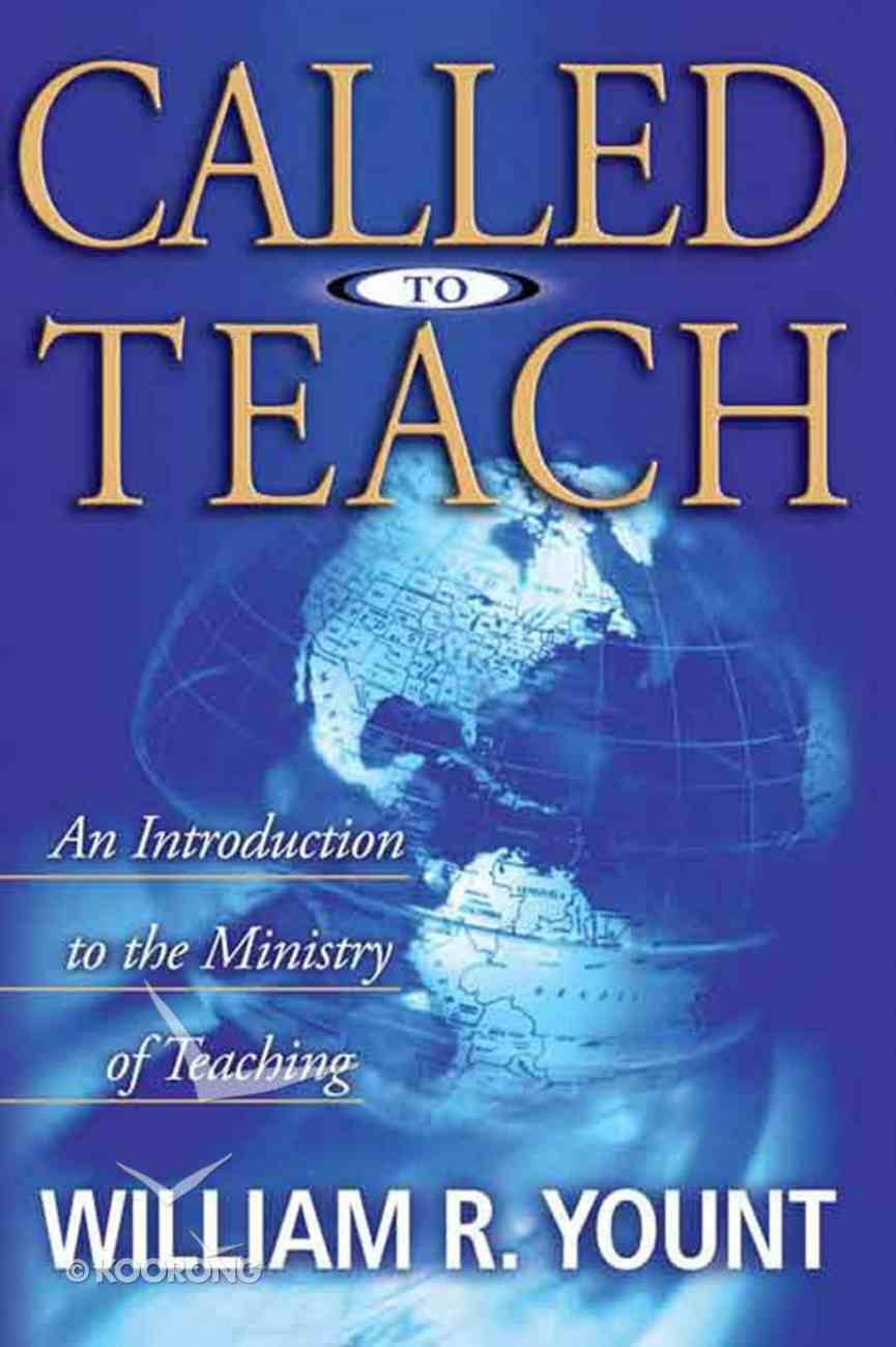 Called to Teach eBook