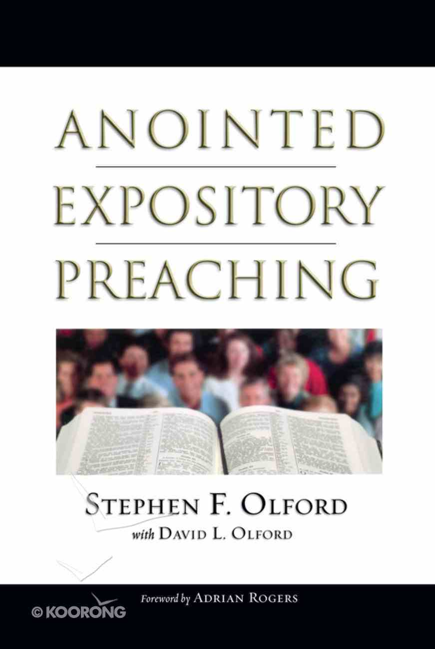 Anointed Expository Preaching eBook