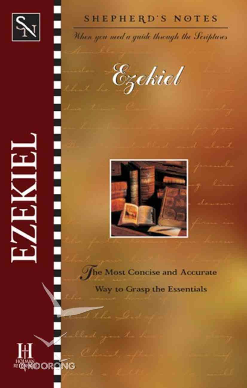 Ezekiel (Shepherd's Notes Series) eBook