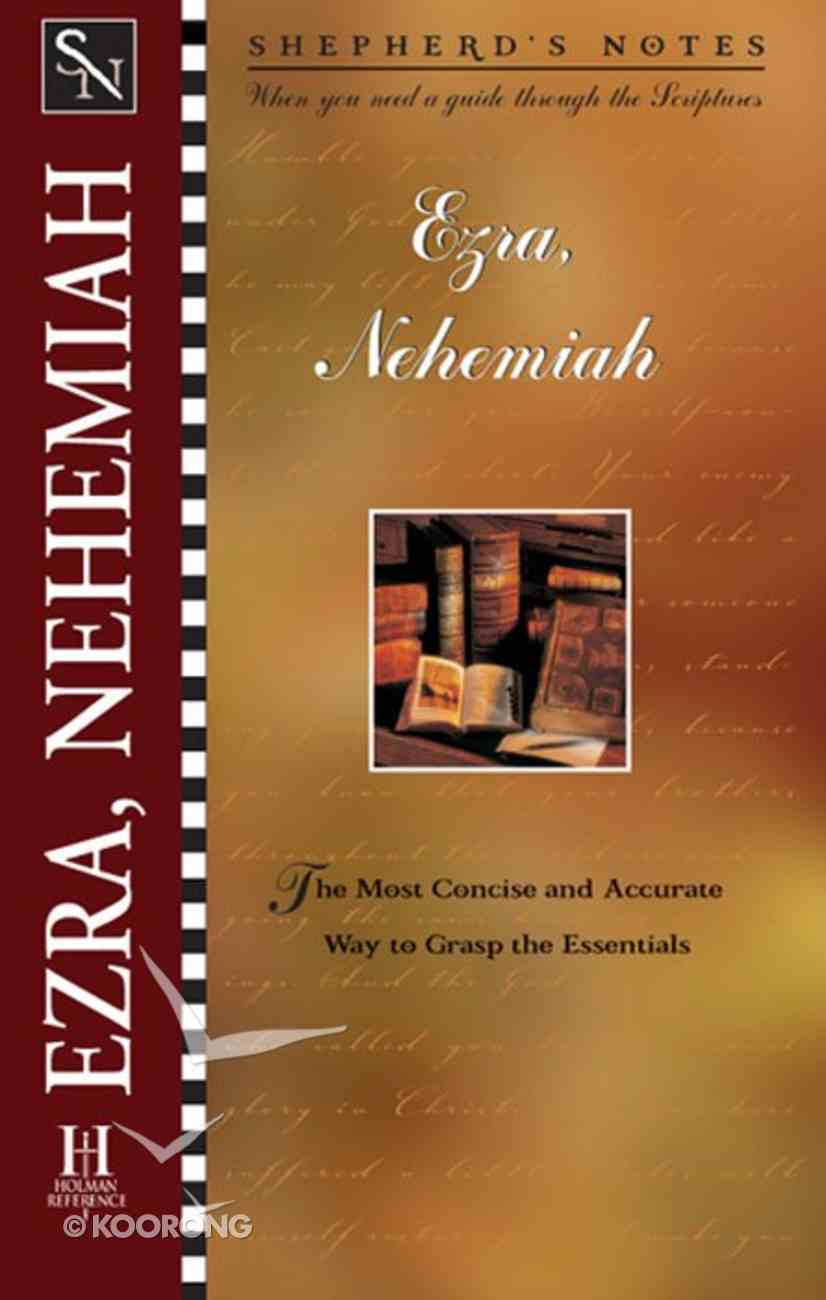 Ezra/Nehemiah (Shepherd's Notes Series) eBook