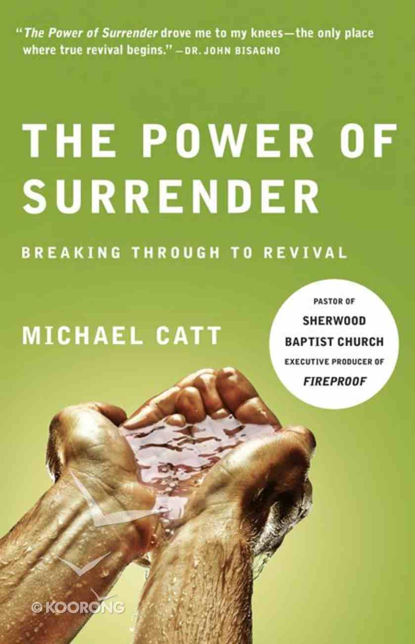 The Power of Surrender eBook