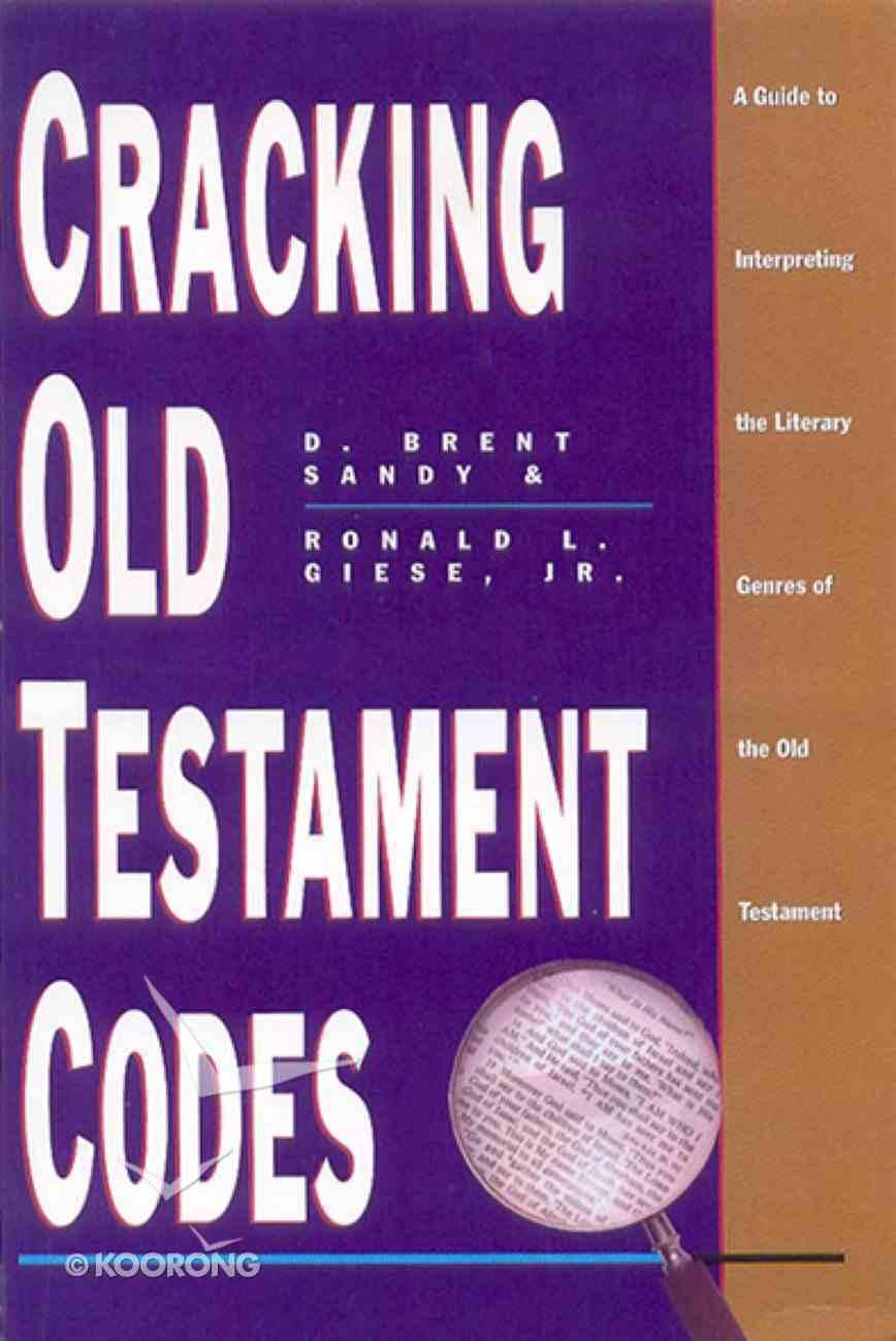 Cracking Old Testament Codes eBook