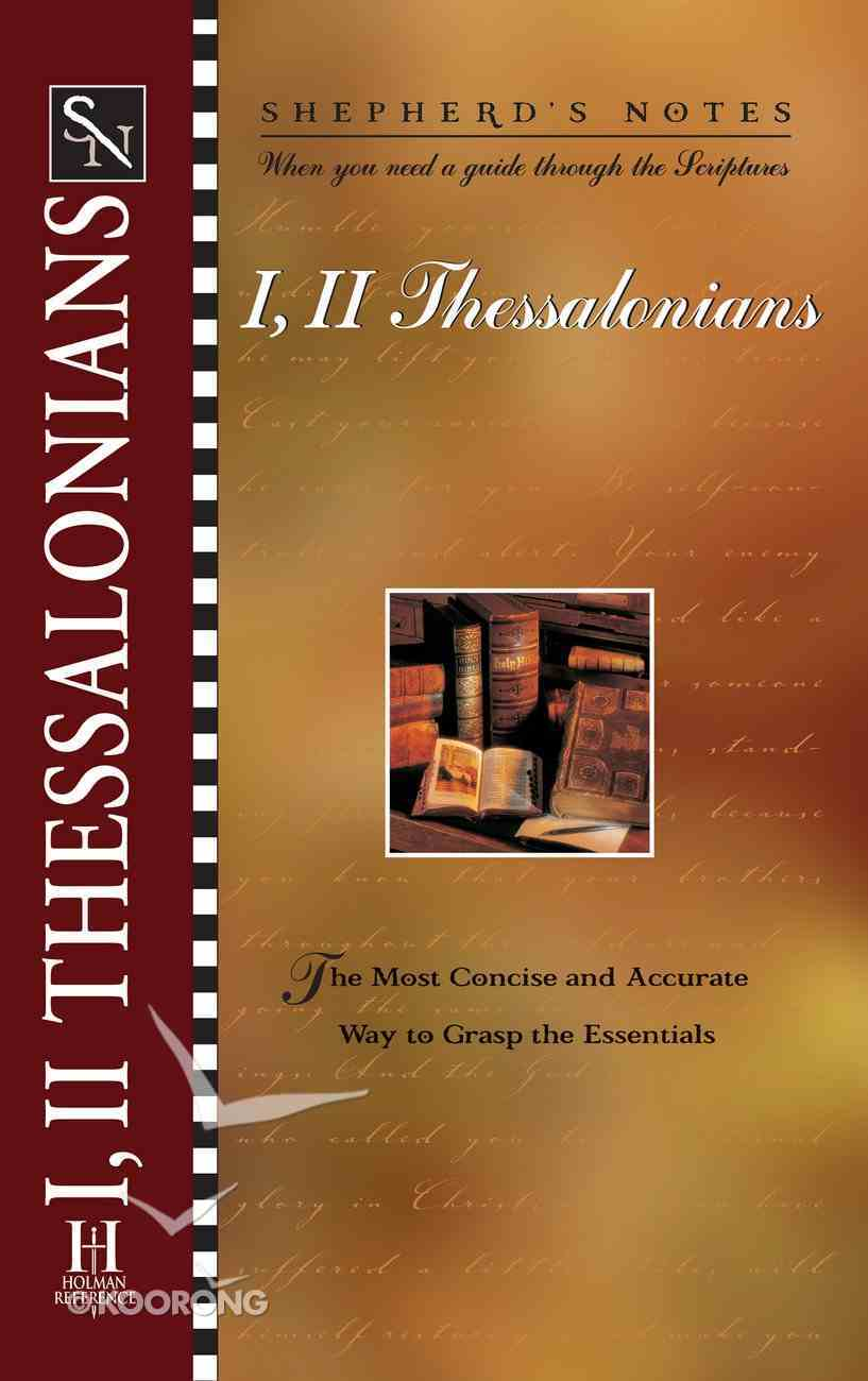 1 & 2 Thessalonians (Shepherd's Notes Series) eBook