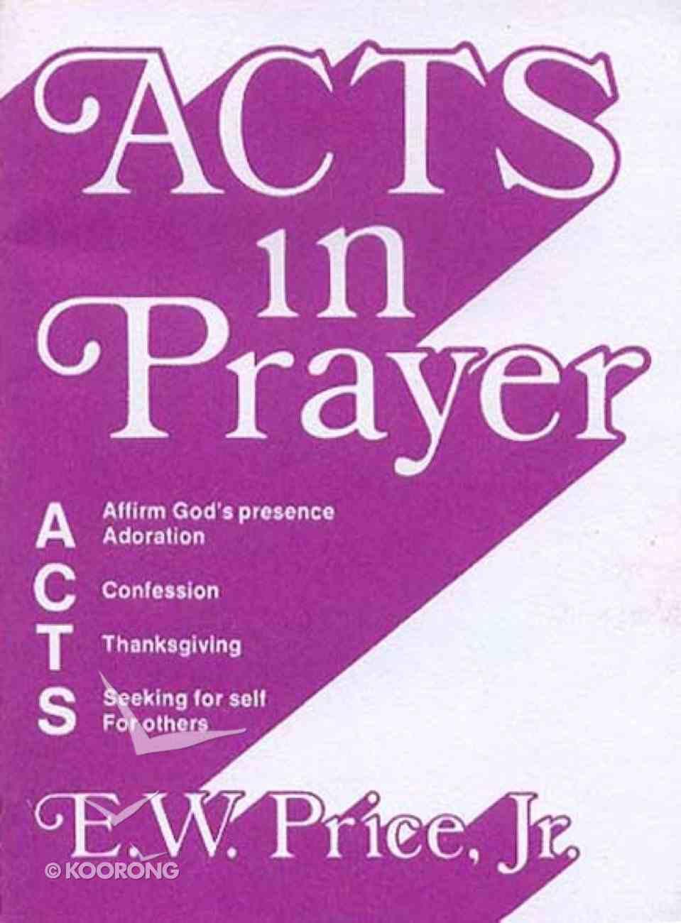 Acts in Prayer eBook