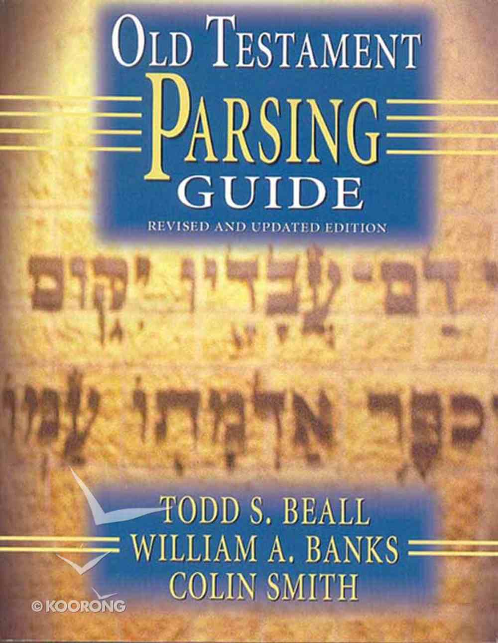 Old Testament Parsing Guide (2000) eBook